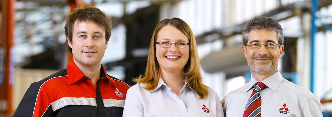 Meet the friendly team at Brendale Mitsubishi Service Centre in Brisbane.