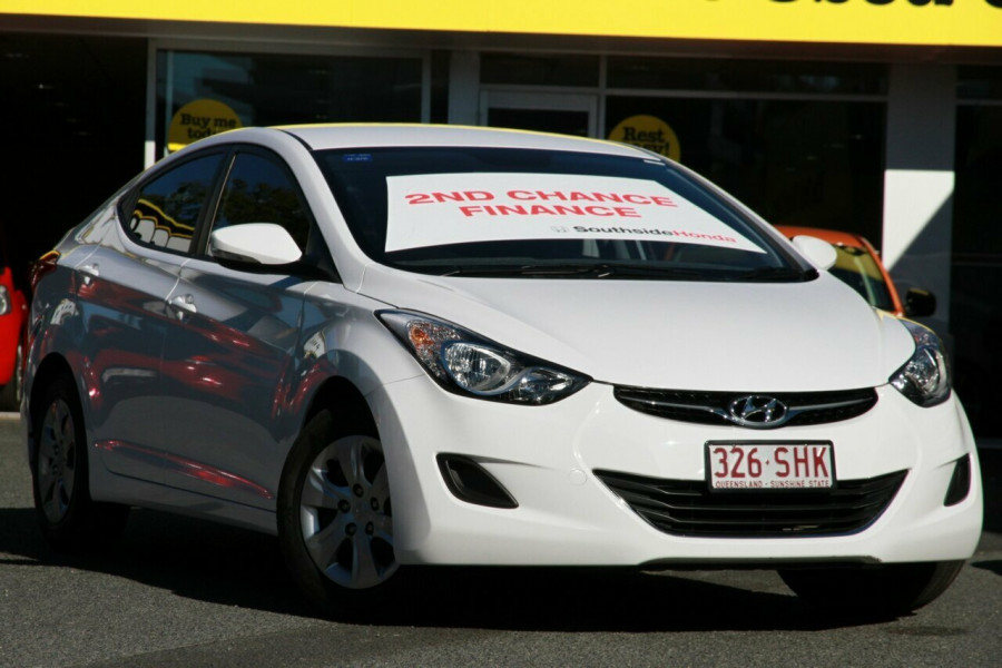 2012 hyundai elantra md active sedan for sale in brisbane. Black Bedroom Furniture Sets. Home Design Ideas