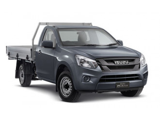 Isuzu UTE D-MAX 4x2 SX Single Cab Chassis Low-Ride