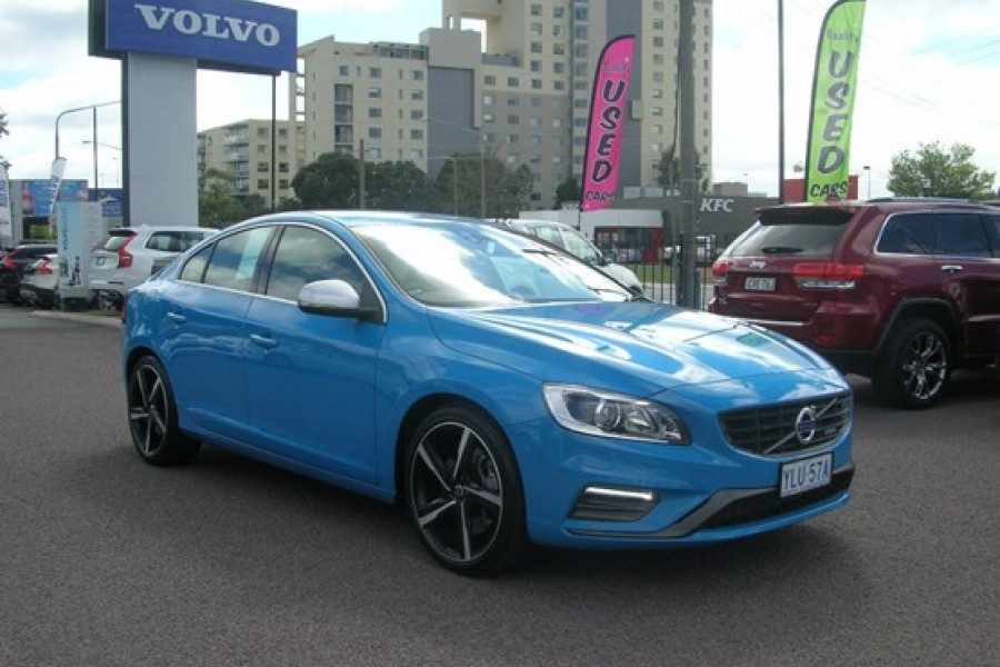 2015 MY16 Volvo S60 Used F Series  T6 T6 - R-Design Sedan