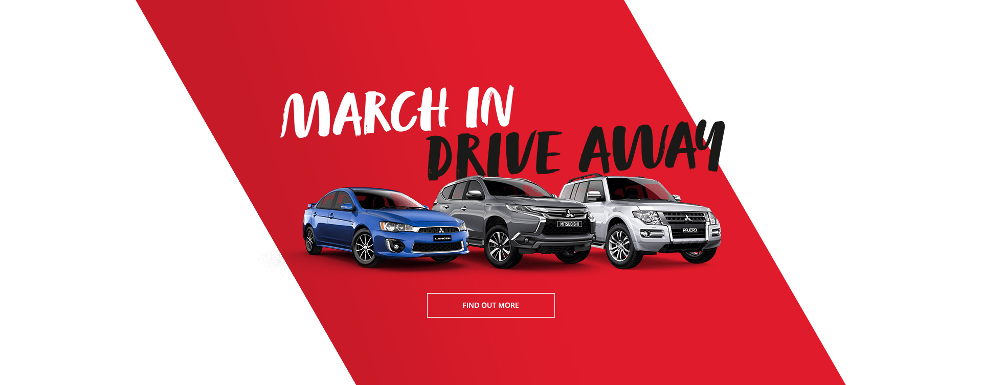 March in and drive away in a new Mitsubishi this month at Redcliffe Mitsubishi Brisbane.