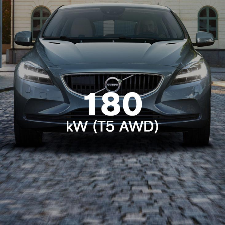 V40 Drive-E powertrains