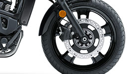 2017 Vulcan S Tyres and Brakes
