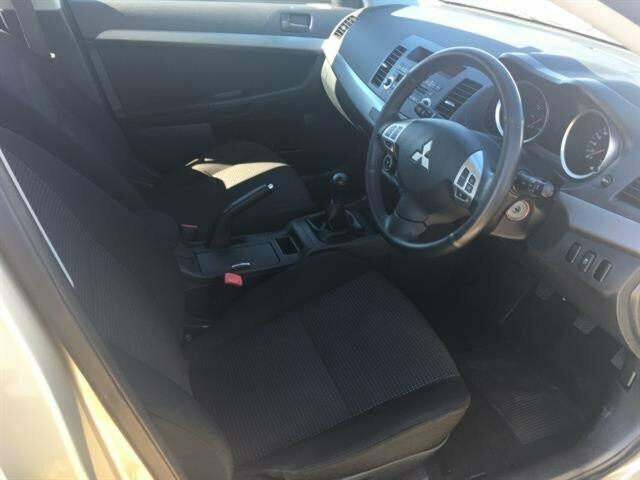 2011 MY Mitsubishi Lancer CJ MY11 SX Sportback Hatchback