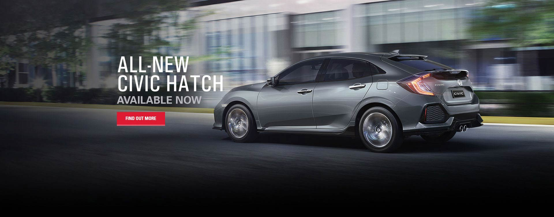 Civic Hatch Available Now