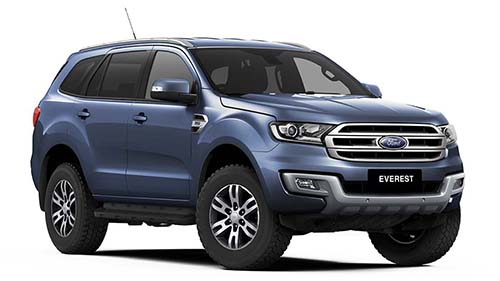 2017 MY18 Ford Everest UA Trend 4WD Wagon