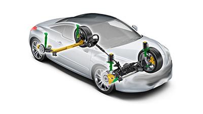 RCZ Coupe Handling
