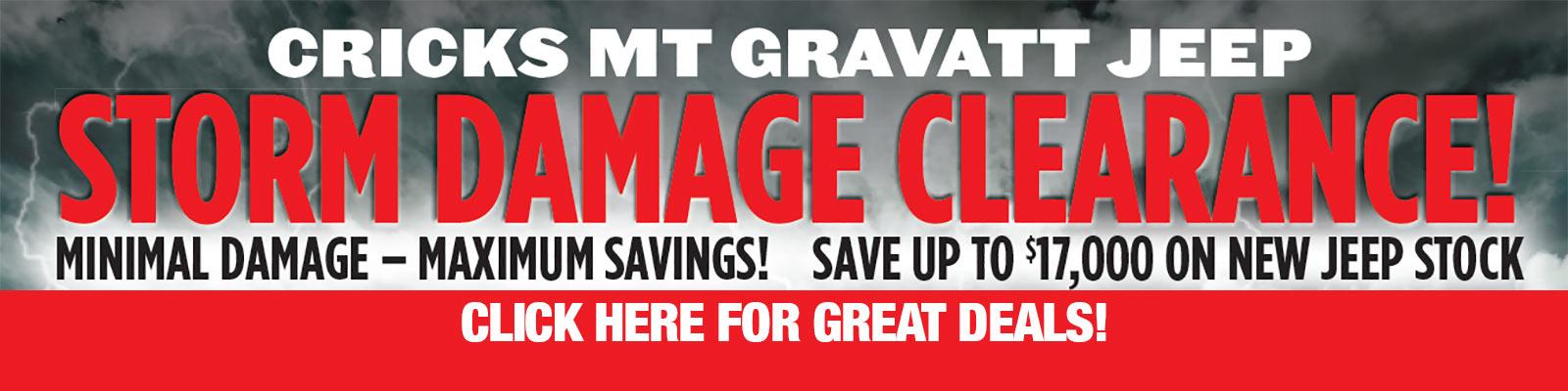 Storm damage clearance on now at Cricks Mt Gravatt