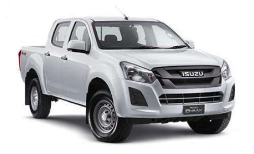 2018 MY17 Isuzu UTE D-MAX 4x4 SX Crew Cab Ute Utility