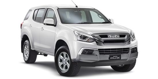 2017 MY Isuzu Ute MU-X 4x2 LS-M Wagon