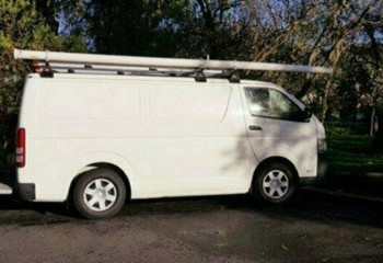 2011 MY Toyota Hiace KDH201R MY11 LWB Van