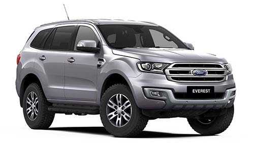 2017 MY18 Ford Everest UA Trend 4WD Suv