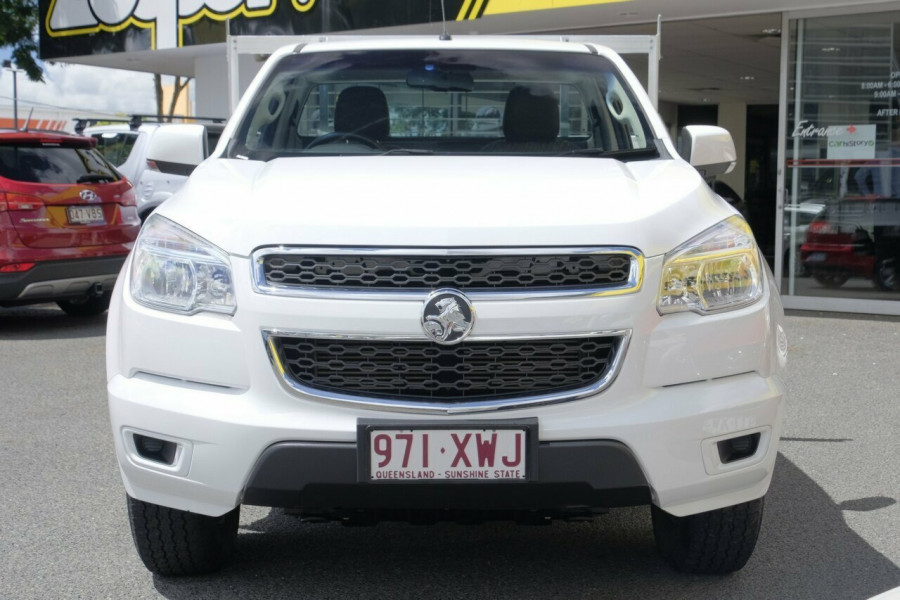 2013 Holden Colorado RG MY13 LX Cab chassis