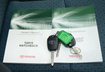 2012 Toyota Yaris NCP131R ZR Hatchback