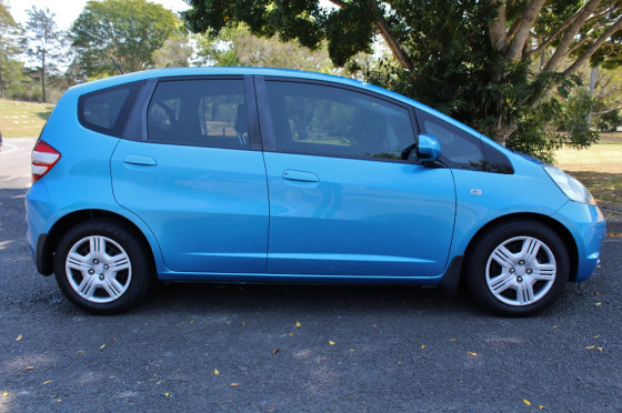 2008 MY09 Honda Jazz GE  GLi Hatchback