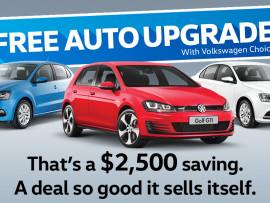 Free Auto Upgrade#