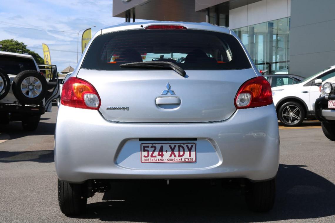 2014 Mitsubishi Mirage LA MY14 ES Hatchback