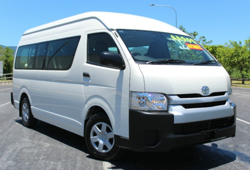 2015 Toyota Hiace TRH223R COMMUTER HIGH ROOF S Bus