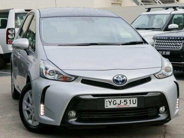 2016 Toyota Prius v ZVW40R I-Tech Wagon
