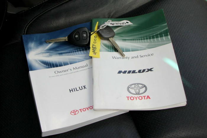 2013 MY14 Toyota Hilux KUN26R MY14 SR5 Double Cab Utility