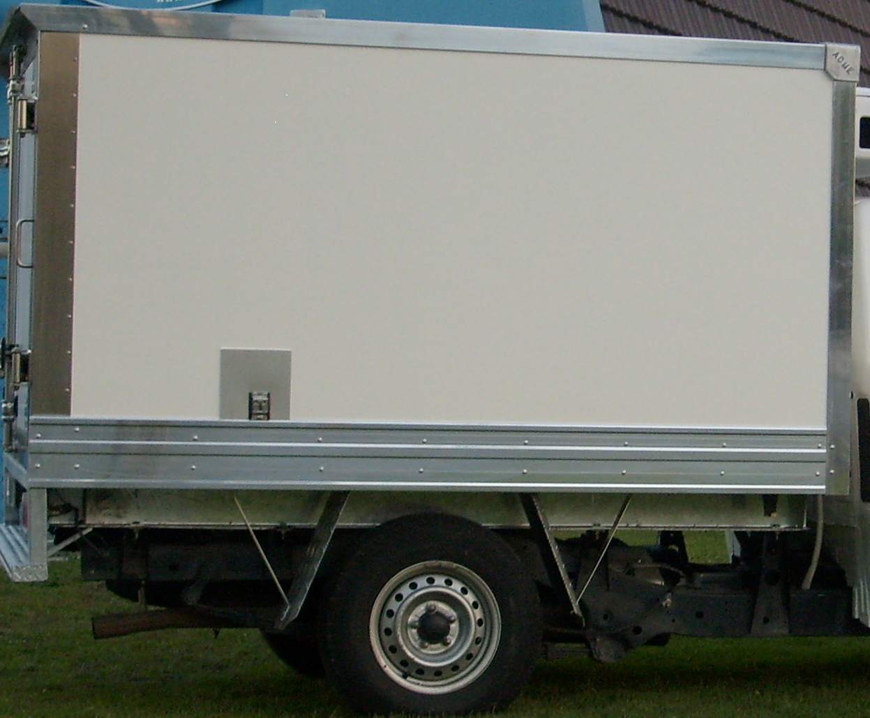 ISUZU D-MAX REFRIGERATED UTE
