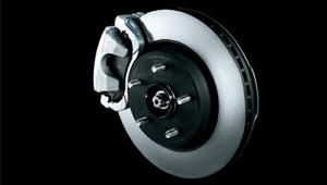 Grand Vitara ABS brakes with EBD and BA