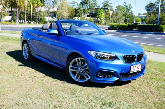2015 BMW 220i F23 Sport Line Convertible