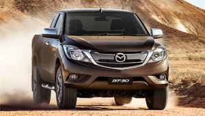 BT-50 Dynamic Stability Control and Traction Control System