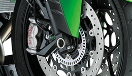 2017 Ninja ZX-14R ABS Special Edition Brembo Ohlins Brembo M50 Monobloc Calipers