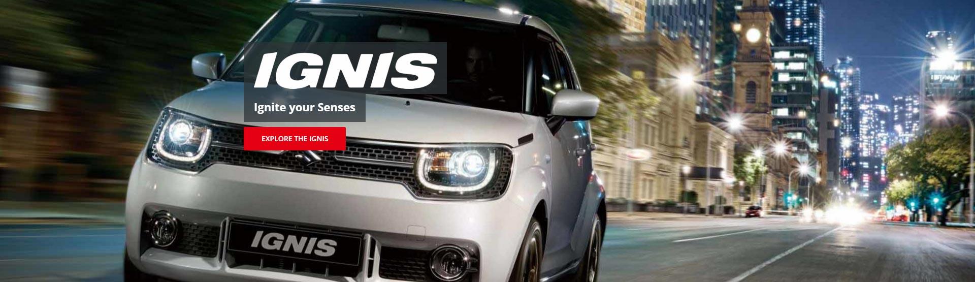 Ignite your senses with the new Suzuki Ignis at Redcliffe Suzuki Brisbane.