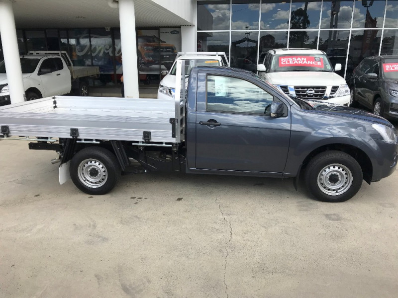 2017 Isuzu UTE D-MAX 4x2 SX Single Cab Chassis Low-Ride Cab chassis