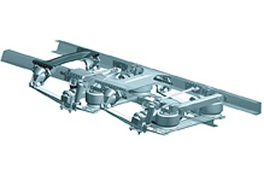 Coronado 114 AirLiner Rear Suspension
