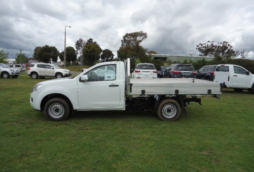 Model 2016 MY15 Isuzu Ute DMAX 4x2 SX Single Cab Chassis Cab