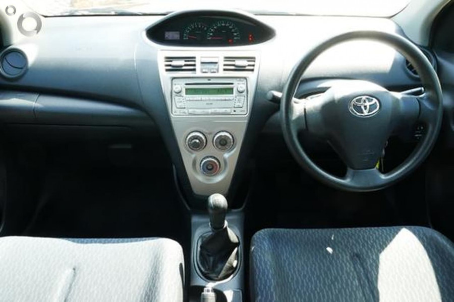 2009 Toyota Yaris NCP93R  YRS Sedan
