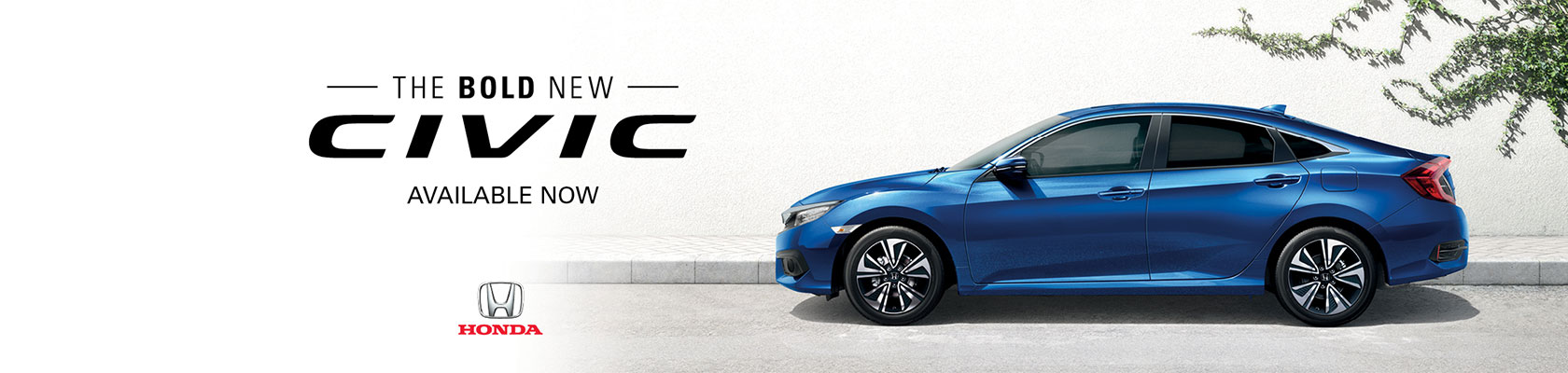 The Bold New Civic - Available Now