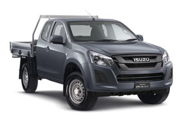 Isuzu UTE D-MAX 4x4 SX Space Cab Chassis