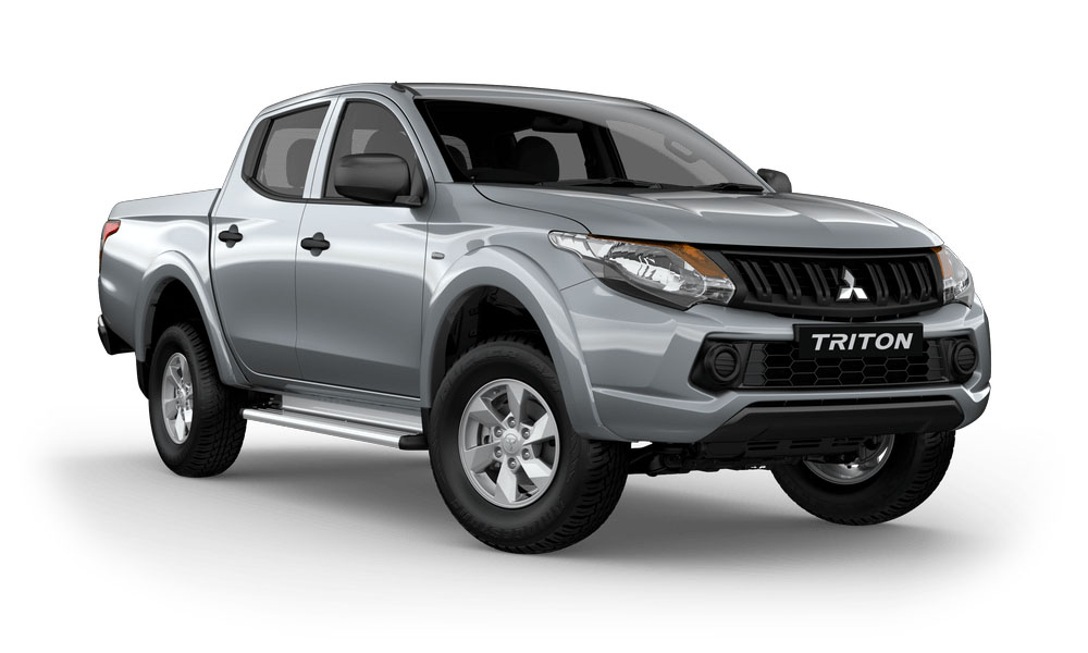2017 MY Mitsubishi Triton MQ GLX Plus Double Cab Pick Up 4WD Utility