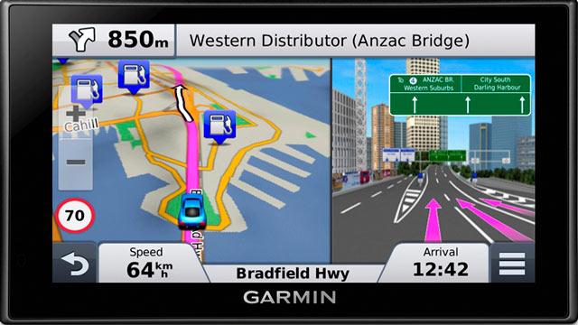 Garmin Nüvi 2689LMT portable satellite navigation