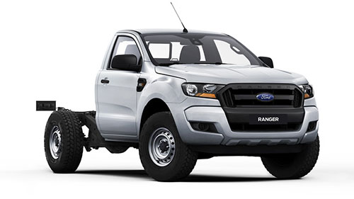 2016 MY Ford Ranger PX MkII 4x2 XL Single Cab Chassis 2.2L Hi-Rider Single cab chassis