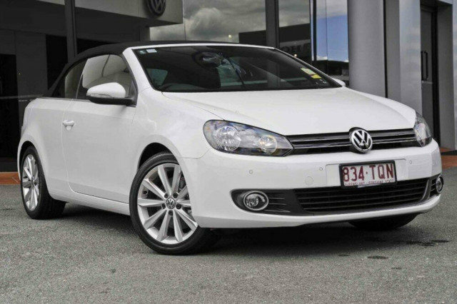 2013 volkswagen golf cabriolet vi 118tsi convertible for sale in newstead austral volkswagen. Black Bedroom Furniture Sets. Home Design Ideas