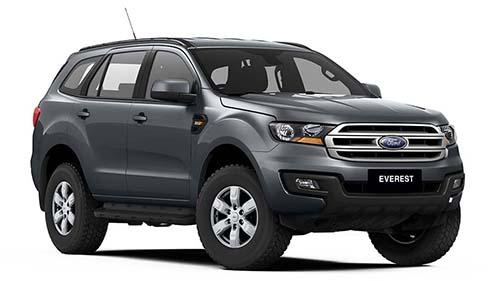 2017 Ford Everest UA Ambiente RWD Wagon