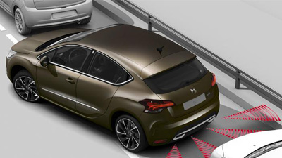 DS4 Crossback Front and Rear Parking Sensors