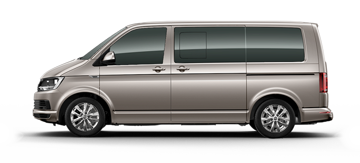 New Volkswagen Multivan