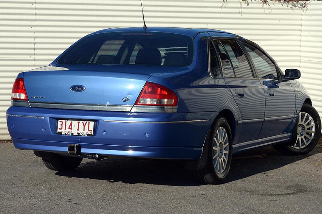 2004 MY70 Ford Fairlane BA GHIA Sedan