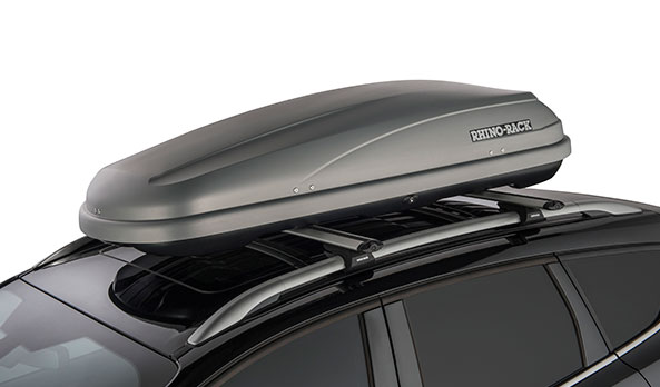 "<img src=""Rhino-Rack Roof Luggage Boxes - 550L Silver"