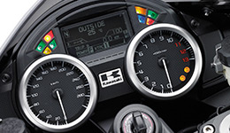 2017 Ninja ZX-14R ABS Multi-function Instrumentation