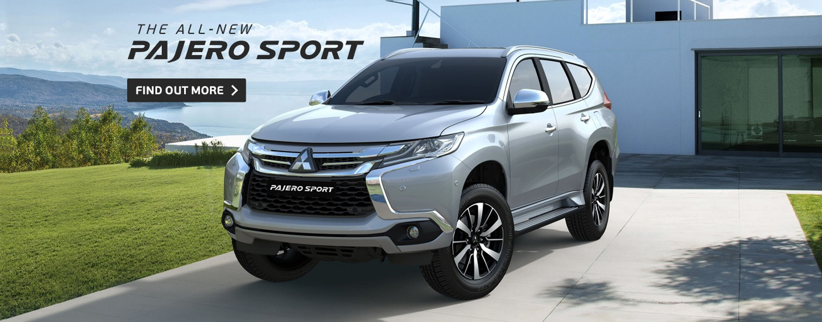 The all-new Pajero Sport 4x4, find out more at Redcliffe Mitsubishi Brisbane today.