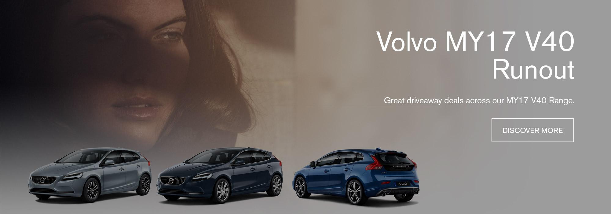 Volvo MY17 Runout