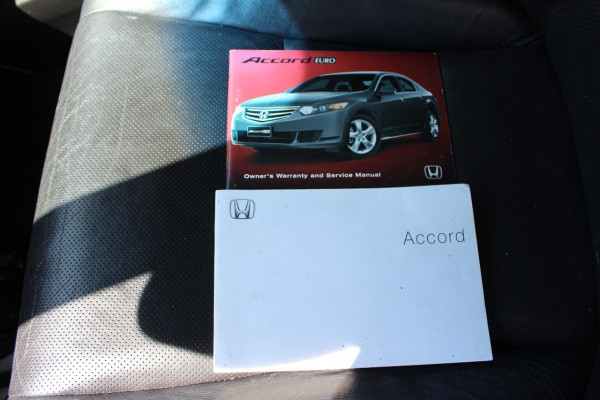 2008 Honda Accord Euro 8th Gen LUXURY Sedan