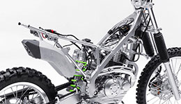 2017 KLX140L High Performance Suspension
